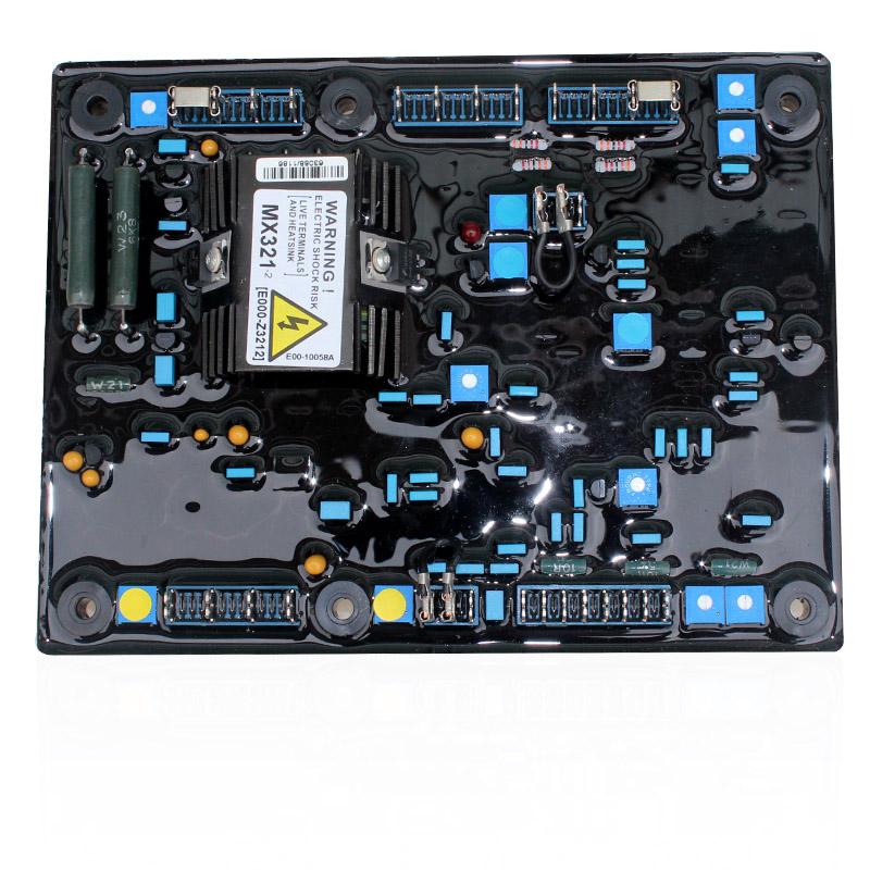 lixise发电机调压板(avr)的电气指标和功能